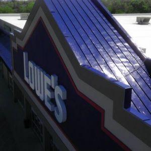 Commercial exterior paint - Lowes